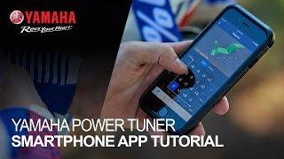 Yamaha Power Tuner Smartphone App Tutorial