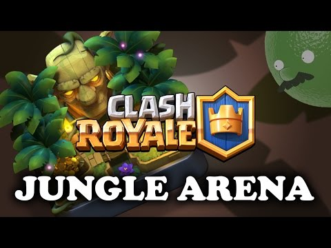 Clash Royale | New Jungle Arena 9 | Sneak Peek