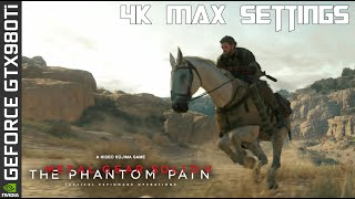 Metal Gear Solid V: The Phantom Pain 4K Max Settings - GTX 980 Ti SC (4K Upload)
