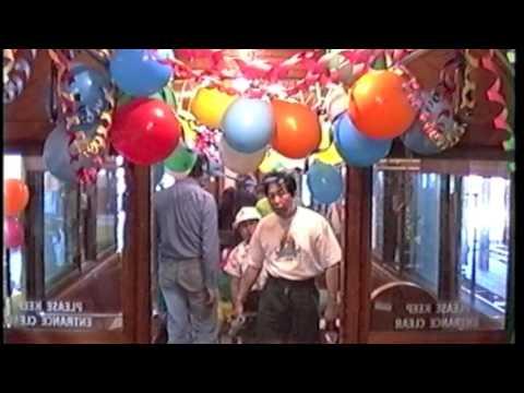 Trams in Melbourne Kew Depot Nov 1991