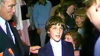 Justin Trudeau, 11, gets sneak peek at Return of the Jedi