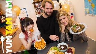 Silvester-Rezepte // Fingerfood für's Silvester-Buffet // #yumtamtam