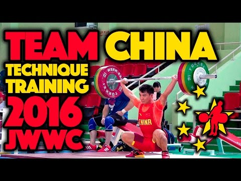 Team China - 2016 JWWC Training Session (June 23)