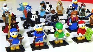 Фигурки Lego Disney 2 серия! Наконец-то и я сделал обзор!