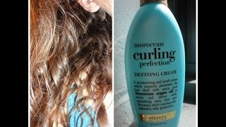 Review: Organix Moroccan Curling Perfection Defining Cream