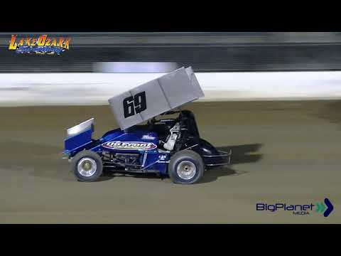 POWRi RaceSaver Sprints, Lake Ozark Speedway 6-29-2019