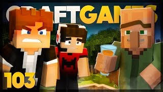 Encontramos VILLAGERS VAGABUNDOS! - Craft Games 103