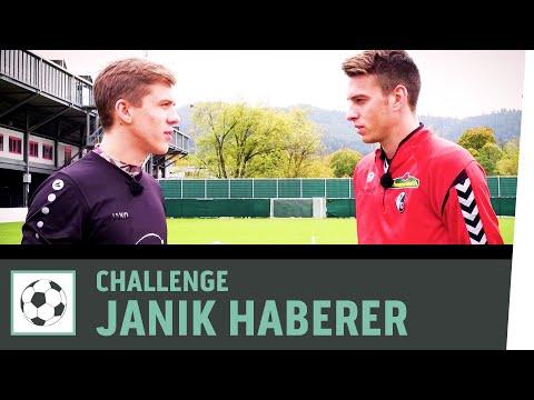 Freistoß-Challenge vs. Janik Haberer   SC Freiburg   Fußball-Challenge   Kickbox