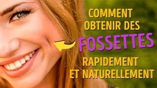 """Comment Obtenir Des Fossettes Rapidement Pour Faire Que Tout le Monde Dise """" Ooohh Trop Chou ! """""""