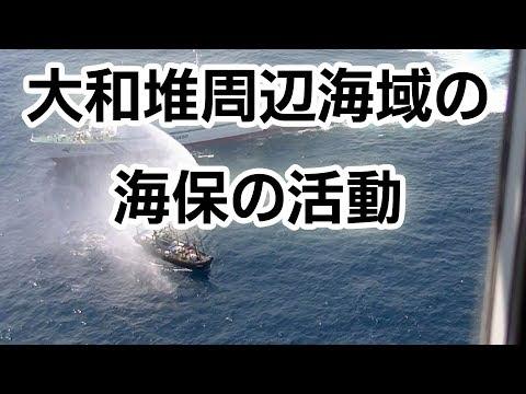 大和堆周辺海域における海上保安庁の活動