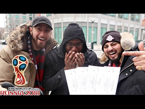 SURPRISING BEST FRIEND WITH WORLD CUP TICKETS $8,000 SEATS