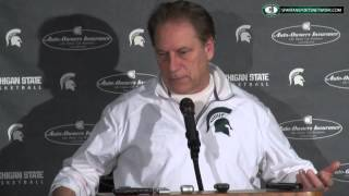 Tom Izzo Press Conference: Discusses disappointment against Maryland