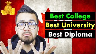 How to Choose the Best College or Diploma in Canada