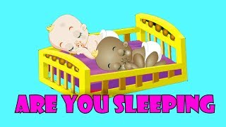 Are you Sleeping brother John Nursery Rhyme and Pretend play