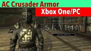 Skyrim SE Xbox One/PC Mods|AC Crusader Armor