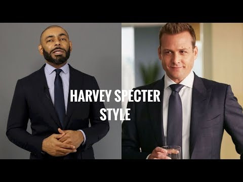 How To Dress Like Harvey Specter From Suits/Harvey Specter From Suits Style BreakDown