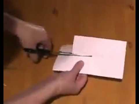 tour de magie 3 papiers