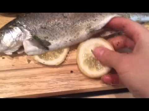 Форель в духовке
