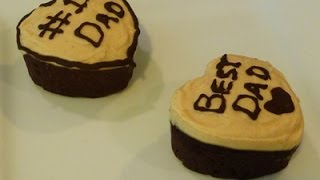 Banana Brownies For Father's Day, Recipe, How To, Easy Brownies