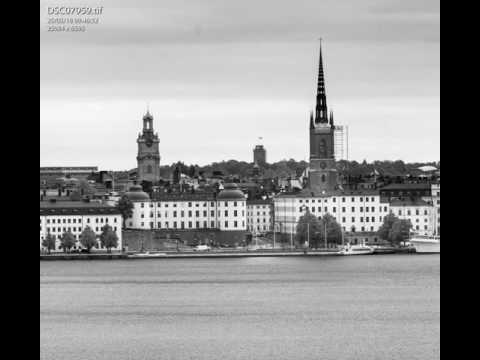 panorama image of Stockholm