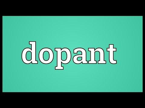 Header of dopant