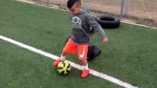 Soccer drills & ball control by Adam U6-U7