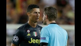 How Cristiano Ronaldo Revenge On Referees!