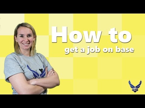 How To Find An On Base Job As A Military Spouse