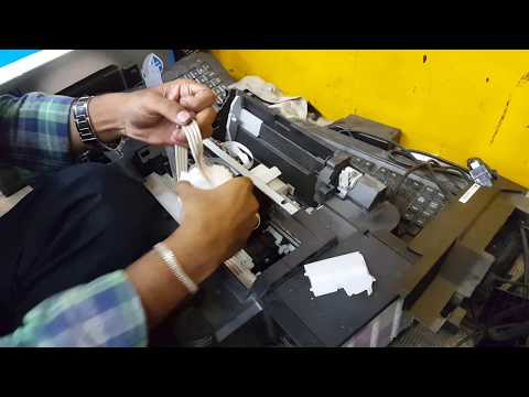 2 ways to clean epson l360 printer head manually // epson l360 head remove and clean