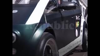 Голландские студенты сделали автомобиль из льна