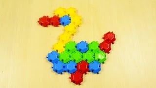Обзор игрушки Мозаика-пазлы 39123