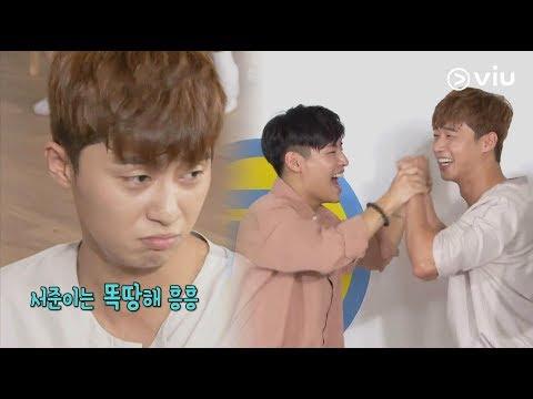 RUNNING MAN 런닝맨 Ep 362: Park Seo Joon's Aegyo! [ENG]