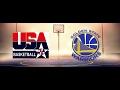NBA2K17 金州勇士 vs 美國夢幻一隊 名人堂難度(Golden State Warriors vs USA 1992 Dream Team)