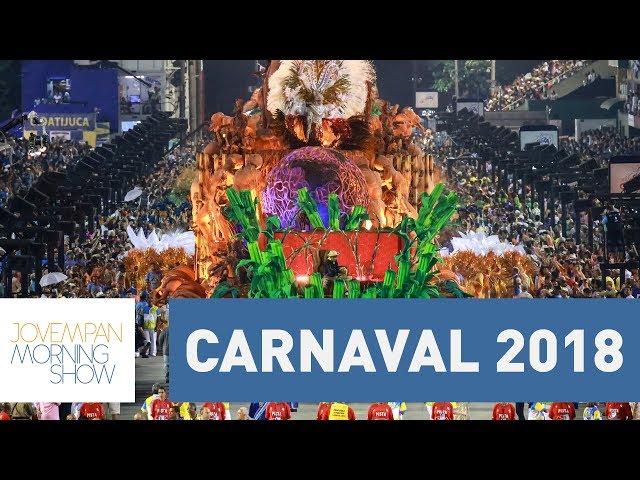 Escolas de Samba do Rio podem não desfilar no Carnaval 2018 | Morning Show
