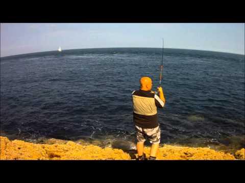 Lure Fishing LLyn Peninsula 20\07\2012