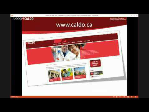 CALDO Universities Presentation- Chile