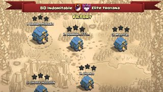 Another War Victory BD Indomitable And We Showed Some Our Attack's |  Clash Of Clans War