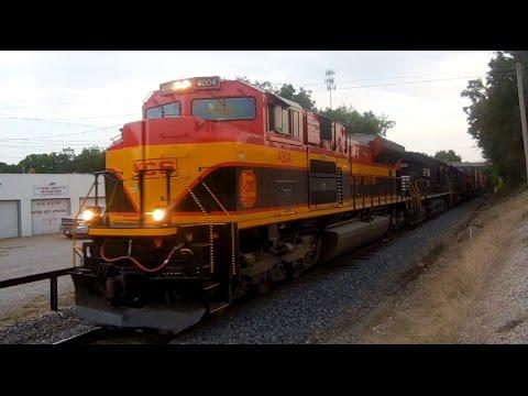 3 railroads. 1 train. No waiting. Kansas City Southern with Norfolk Southern and CSX!