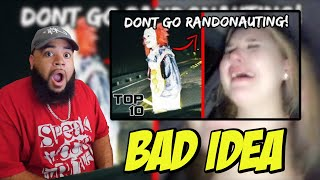 Top 10 Scary Randonautica Experiences - Don't Think I Can Do This