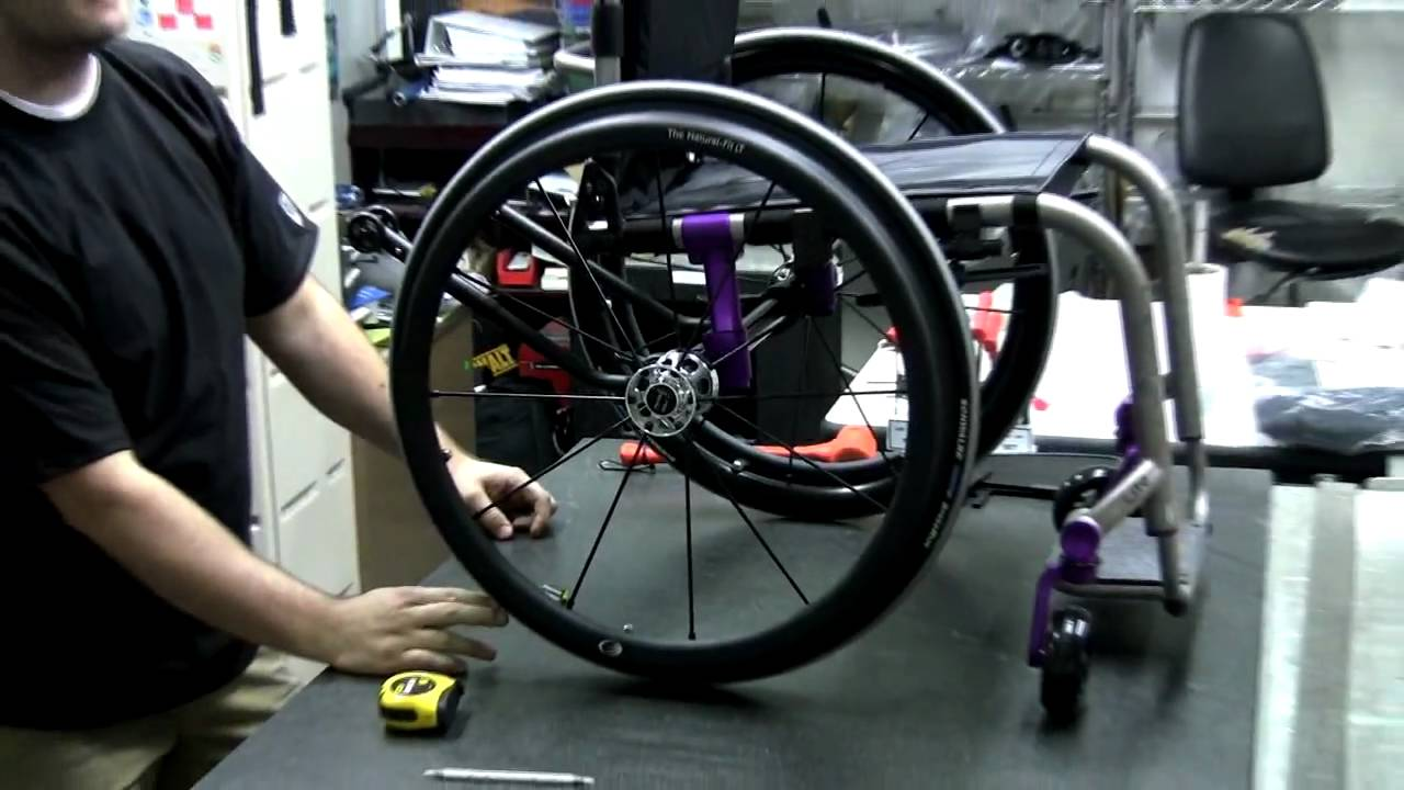 Adjusting The Center Of Gravity On The Tilite Zra Series 2