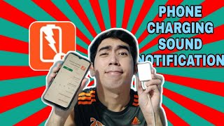 HOW TO USE CHARGING SOUND NOTIFICATION ON ANDRIOD | BATTERY SOUND NOTIFICATION screenshot 1