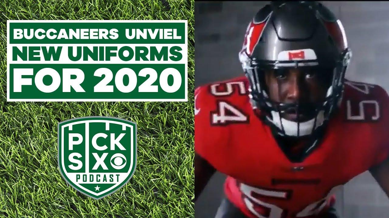 Tampa Bay Buccaneers unveil 2020 uniforms  | CBS Sports HQ