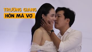Trường Giang tình tứ hôn má Nhã Phương trong lần đầu xuất hiện cùng nhau sau kết hôn 1 năm