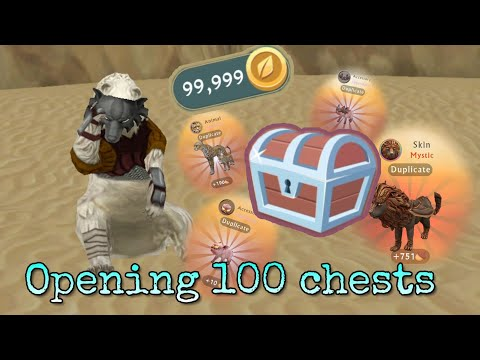 WildCraft: Opening 100 Chests!