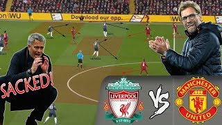 How Klopp's Masterclass Got Mourinho Sacked: Liverpool vs Manchester United - Tactical Analysis