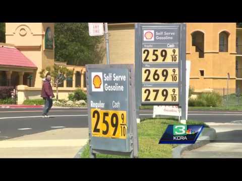 Sacramento gas prices push higher as 'spring break' approaches