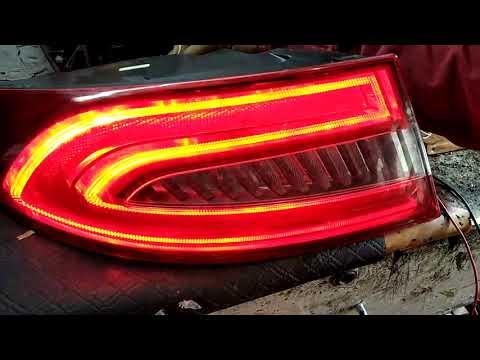 Jaguar XF Tail Light Reparing