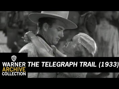 The Telegraph Trail (1932) –  Never Saw The Girl Before!