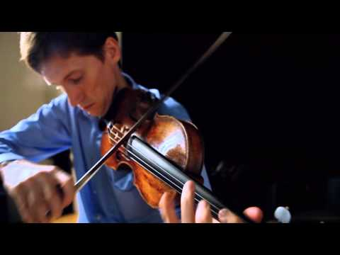 Prokofiev: Sonata for Solo Violin - 3rd movement. Violinist - Karl Stobbe