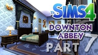 The Sims 4 House Building: Downton Abbey / Highclere Castle - Part 7 - (Real Time)